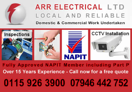 Electricians Nottingham Ngtrader Electrical