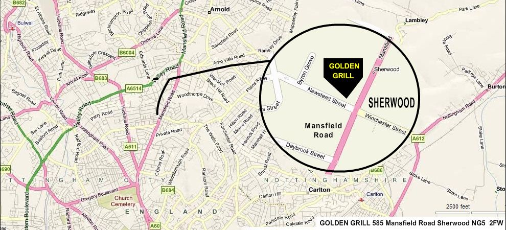 Golden Grill Map