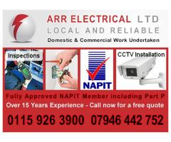 ARR Electrical Call 07946 442 752