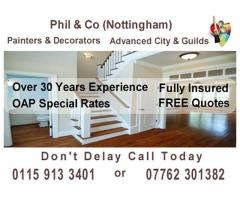 Phil & Co (Nottingham) Painters & Decorators