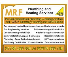MR.F  - Plumbing & Central Heating