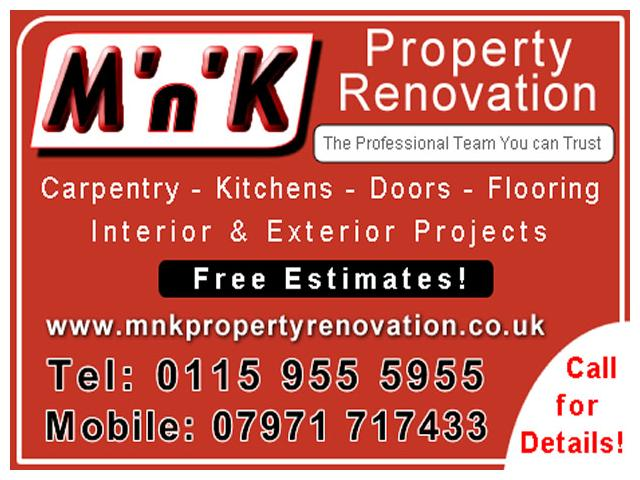 M'n'K Property Renovation - Nottingham - NgTrader