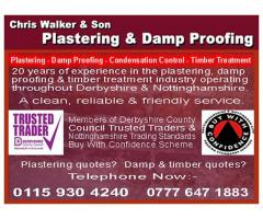 Chris Walker & Son Plastering - Nottingham - NgTrader