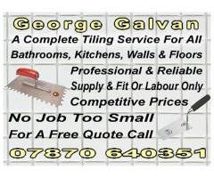 George Galvan  - Professional Tiler - Nottingham - NgTrader