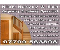 Nick Harvey and Son Joinery - Nottingham - NgTrader