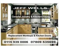 Jeff Wells - General Joinery & Kitchen Fitting - Nottingham - NgTrader