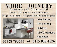More Joinery - Nottingham NgTrader - Call 07528 793777