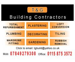 T and G  Building Contractors - Nottingham  NgTrader