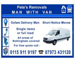 Pete's Removals - Nottingham - NgTrader