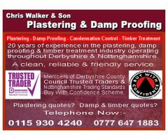 Chris Walker & Son Plastering & Dampproofing