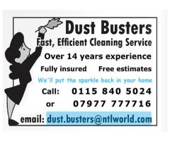 Dust Busters - Fast - Efficient - Nottingham - NgTrader