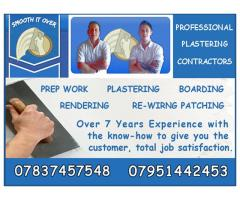 Smooth It Over - Professional Plastering Contractors - Nottingham - NgTrader