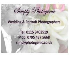 Simply Photogenic - Nottingham Based Family Portrait and Wedding Photographer
